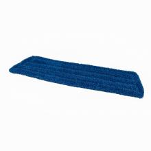 Microvezel vlakmop 45 cm blauw | 5 stuks