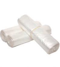 Afvalzak pedaalemmer 50x55 cm HDPE transparant T15 | 20 rol x 50 zakken