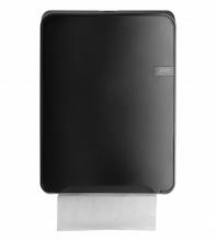 Dispenser Quartz handdoekpapier vouw  zwart