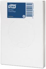 Hygienezakjes plastic B5 wit | 48 x 25 stuks