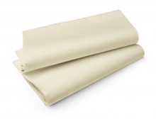 Duni Tablecovers Evolin tafellaken 127x180 cm cream | 25 stuks