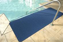 Wet step mat 90 x 300 cm tbv douches, sauna, zwembad   per stuk