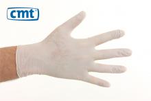 Handschoenen soft nitril  poedervrij wit maat L | 100 stuks