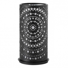 Kaarshouder Duni billy zwart 140x75 mm | 4 stuks