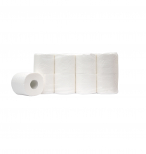 Toiletpapier traditioneel 3-laags 250 vel supersoft | 8 x 8 rol per pak