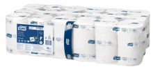 Toiletpapier coreless mid-size Tork T7 1-laags 1300 vel | 36 rol per pak