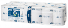 Toiletpapier coreless mid-size Tork T7 2-laags 900 vel | 36 rol per pak