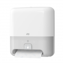 Dispenser handdoekrol sensor automatisch H1 wit