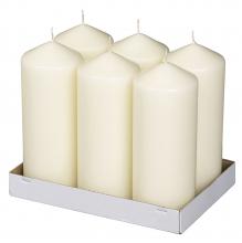 Stompkaars 200x80 mm ivoor | 6 stuks per doos