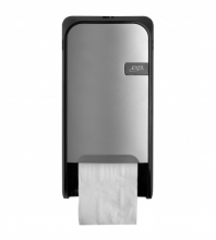 Dispenser Quartz toiletpapier doprol zilver