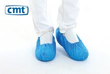 Schoenovertrek geruwd 41x15 cm blauw | 20 x 100 stuks
