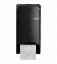 Dispenser Quartz toiletpapier doprol zwart