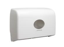Dispenser Aquarius toiletpapier duo mini jumbo toilettissue