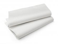 Duni Tablecovers Evolin tafellaken 127x180 cm wit | 25 stuks