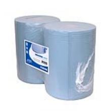 Industriepapier blauw 3-laags 190 mtr x 37 cm   2 rol per pak
