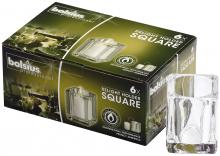 Kaarshouder ReLight Square transparant | 6 stuks