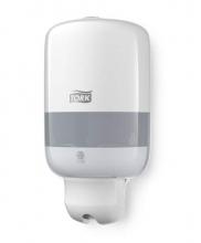 Dispenser mini vloeibare zeep en toiletbrilspray S2 wit