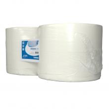 Industriepapier wit 2-laags 380 mtr x 24 cm   2 rol per pak