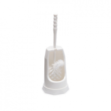 Toiletborstelgarnituur staand met randreiniger wit | per stuk