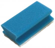 Reinigingsspons Taski blauw-wit | 10 stuks