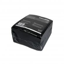 Reinigingsdoek nonwoven, sopdoek zwart | 25 stuks per doos