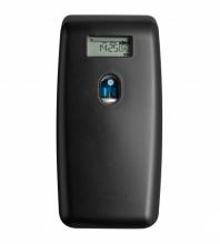 Dispenser luchtverfrisser Euro Quartz digitaal zwart
