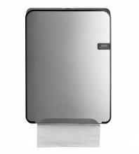 Dispenser Quartz handdoekpapier vouw  zilver