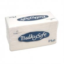 Servet Bulkysoft point-to-point 38x38 cm wit 2-laags 1/8 vouw | 40 x 20 stuks