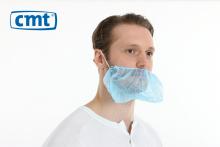 Baardmasker met hoofdelastiek blauw | 1000 stuks