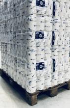 Pallet toiletpapier coreless mid-size Tork T7 1-laags 1300 vel | 33 pak à 36 rol per pak