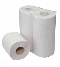 Toiletpapier traditioneel 2-laags 200 vel naturel | 16 x 4 rol per pak