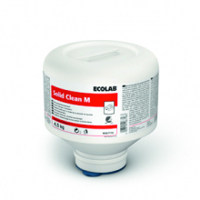 Solid Clean M vaatwasmiddel met ecolabel 4,5 kg | 4 stuks