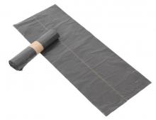 Afvalzak huisvuil non-komo 60x80 cm LDPE T50 | 20 rol x 20 zakken