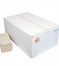Handdoekpapier Z-vouw naturel 1-laags 23x25 cm | 20 x 250 stuks