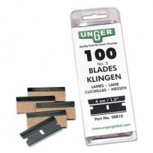 Unger carbonsteel messen tbv Ergotec veiligheidschraper 4 cm |  100 stuks
