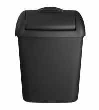 Hygiënebak Quartz 8 liter mat zwart
