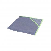 Microvezeldoek Wecoline allure  met scrubhoek groen | 10 stuks