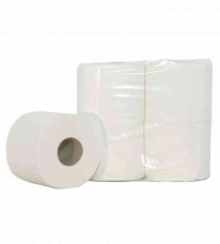 Toiletpapier traditioneel 2-laags 400 vel cellulose | 10 x 4 rol per pak