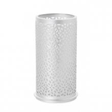 Kaarshouder Duni billy bliss zilver 140x75 mm | 4 stuks