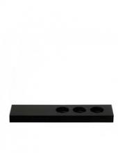 The Spa display zwart voor tubes | 10 stuks