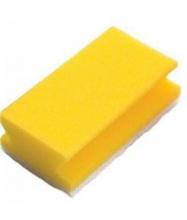 Reinigingsspons Taski geel-wit | 10 stuks