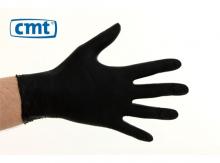 Handschoenen soft nitril poedervrij zwart maat M | 100 stuks