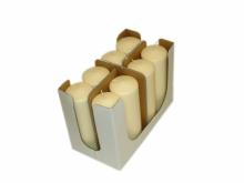 Stompkaars 200x80 mm ivoor | 8 stuks per doos