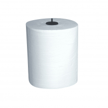 Handdoekrol Euro matic 2-laags 150 mtr x 21 cm | 6 rol per pak