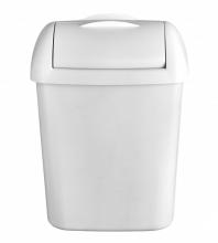 Hygiënebak Quartz 8 liter mat wit