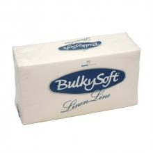 Servet Bulkysoft airlaid 40x40 cm wit 1-laags 1/8 vouw | 20 x 25 stuks