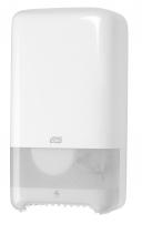 Dispenser toiletpapier twin mid-size T6 wit