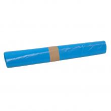 Afvalzak blauw 80x110 cm HDPE T25 | 15 rol x 20 zakken