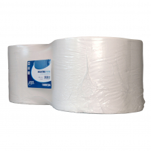 Industriepapier wit 1-laags 1000 mtr x 24 cm   2 rol per pak
