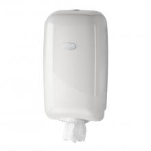 Dispenser Pearl wit voor poetspapier mini   bruikleen